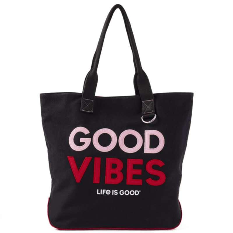 Life Is Good Good Vibes Wayfarer Tote