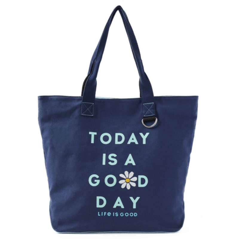 Life Is Good Today Is A Good Day Wayfarer Tote