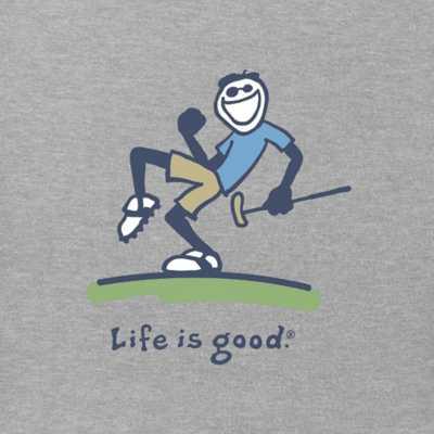 Men's Life Is Good Pump Putt Jake Vintage Crusher T-Shirt