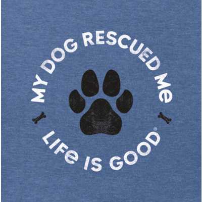 Men's Life Is Good Rescue Bones Crusher T-Shirt