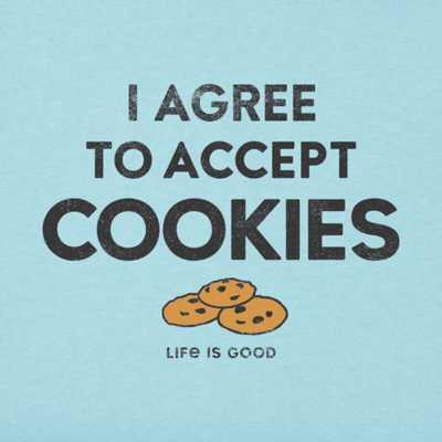 Men's Life is Good I Accept Cookies T-Shirt