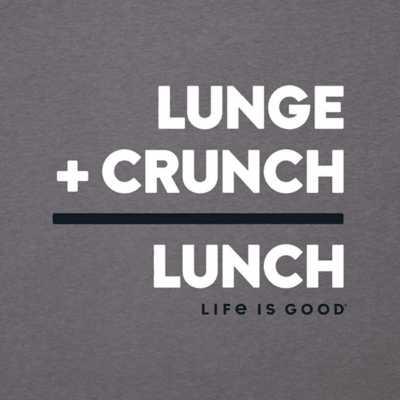 Men's Life is Good Lunch Math T-Shirt