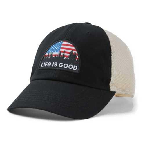 Life Is Good American Landscape Soft Mesh Back Cap