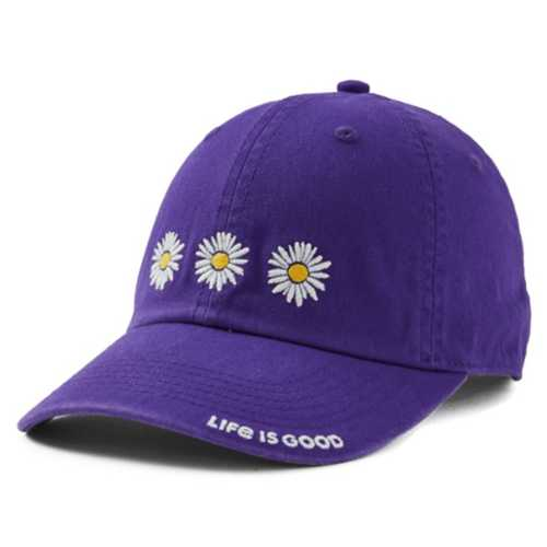 Life Is Good Three Daisies Chill Hat