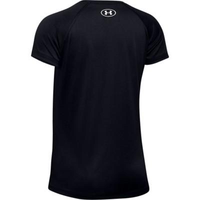 Grade School Girls' Under Armour Big Logo Solid T-Shirt