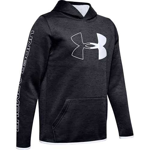 Boys' Under Armour Fleece Armour Branded Hoodie
