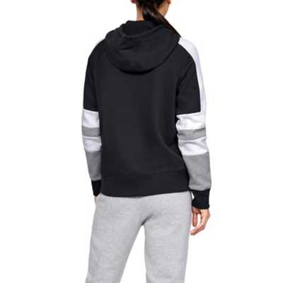 Women's Under Armour Rival Fleece Novelty Logo Hoodie
