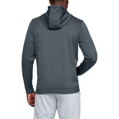 Men's Under Armour Fleece Armour Bar Graphic Logo Hoodie