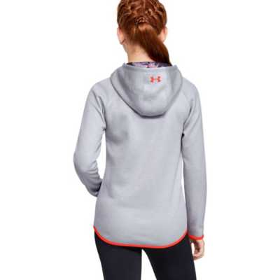 Girls' Under Armour Fleece Armour Big Logo Twist Hoodie