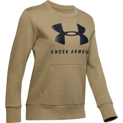 Women's Under Armour Rival Fleece Sportstyle Graphic Crew