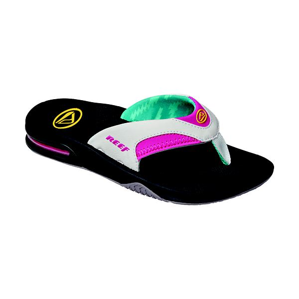 29aaaad1869d ... Women s Reef Fanning Sandals Tap to Zoom  Black Grey Tap to Zoom   Bright Nights