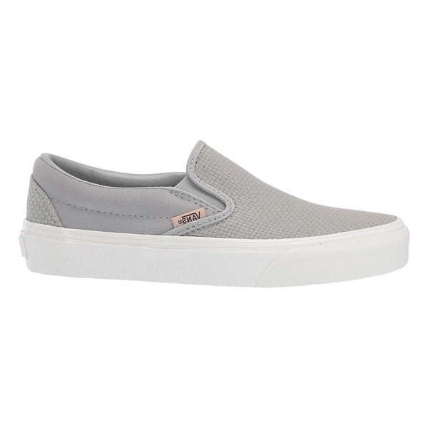 e87c78733ce8 ... Women s Vans Classic Slip On Shoes Tap to Zoom  Belgian Block Snow White