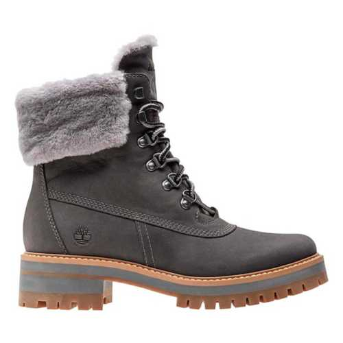 Personas con discapacidad auditiva realce botón  Women's Timberland Courmayeur Valley Shearling Lined Boots | SCHEELS.com
