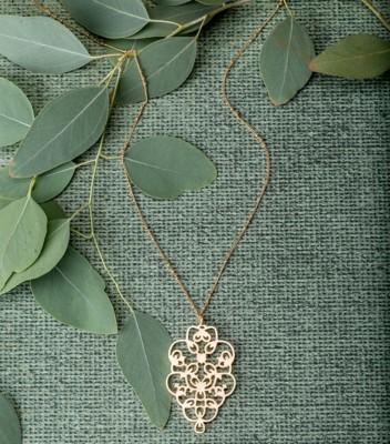 Women's Downeast Filigree Medallion Necklace
