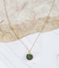 Women's Downeast May Birthstone Pendant Necklace