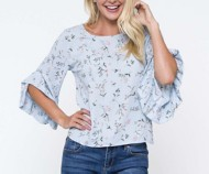 Women's Downeast Can't Forget Floral Blouse