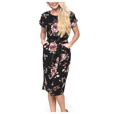 Women's Downeast Flower My World Dress