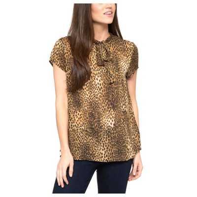 Women's Downeast Animal Party Short Sleeve Shirt