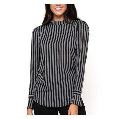 Women's Downeast Lost in Stripes Long Sleeve Shirt