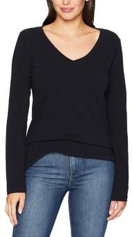 Women's dylan Effortless V Neck Long Sleeve Shirt