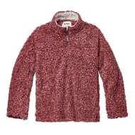 Women's dylan Stadium Sherpa 1/4 Zip Pullover Sweatshirt