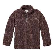 Women's dylan Soho Sherpa 1/4 Zip Pullover Sweatshirt