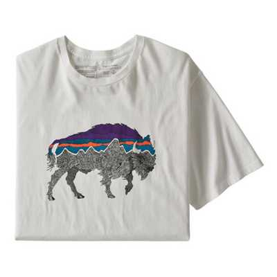 White/Bison Logo