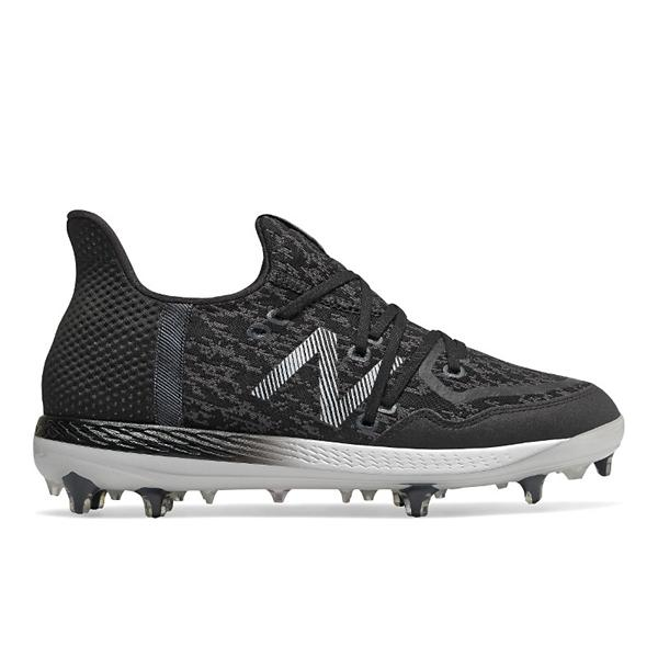ec79a4f6a ... Men's New Balance Cypher 12 Baseball Cleats Tap to Zoom; Black/White
