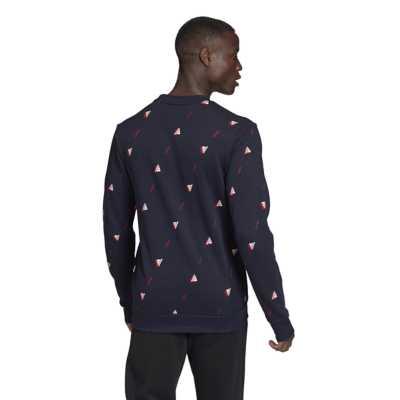 Men's adidas Must Haves Essential GFX Crew Sweatshirt