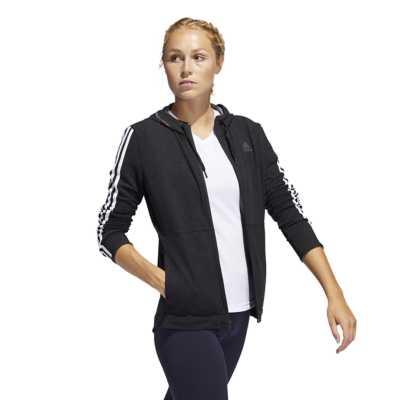 Women's adidas 3Stripes Training Full Zip Hoodie