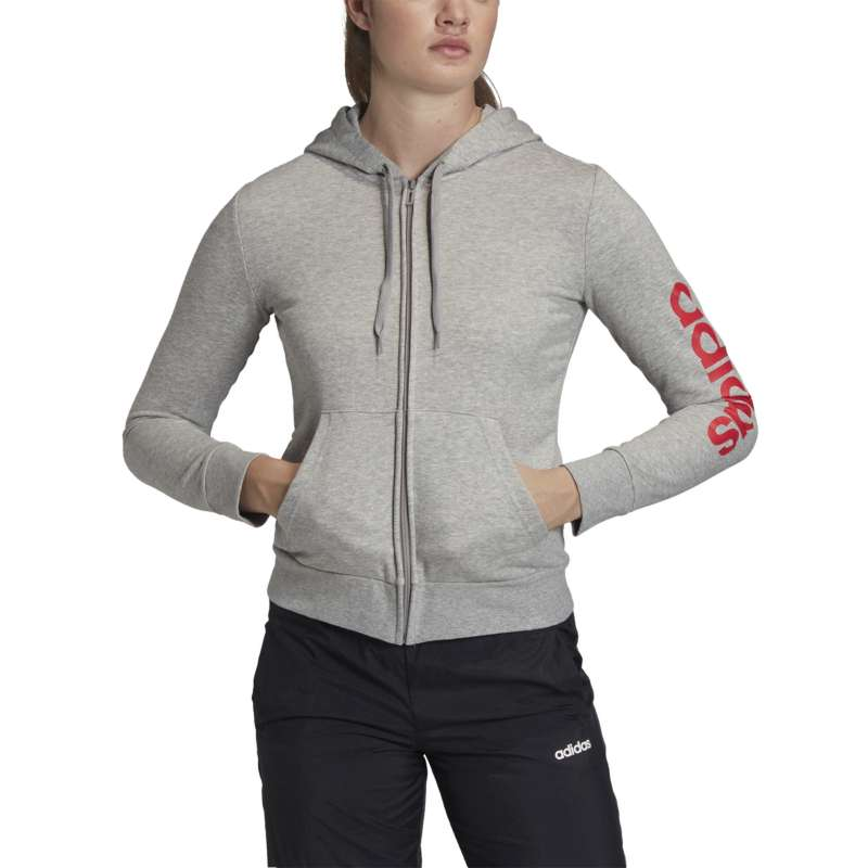Women's adidas Linear Full Zip Hoodie