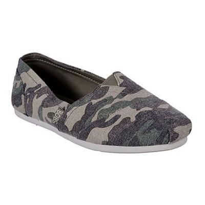 Women's Skechers Bobs Camo Shoes