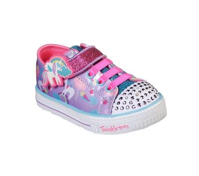 Toddler Girls' Skechers Charmed Friend Light Up Shoes