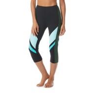 Women's Beach House Sport Cobra Front Runner Color Blocked Swim Capri