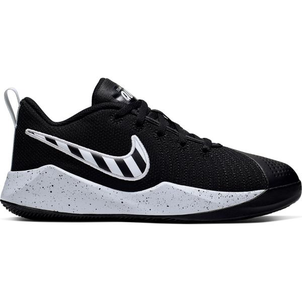 37c8dec68 ... Grade School Nike Team Hustle Quick 2 Sport Basketball Shoes Tap to  Zoom; Black/White-Pure Platinum