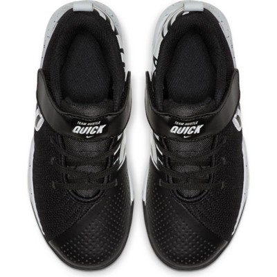 cheaper on feet images of classic fit 34cbf5 nike kids team hustle quick basketball boot shoe ...