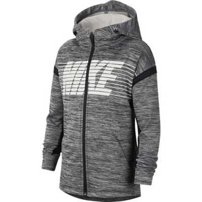 Boys' Nike Therma Graphic Full Zip Hoodie |