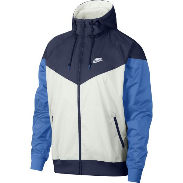 e4af2f370 ... Men's Nike Sportswear Windrunner Hooded Full Zip Jacket Tap to Zoom;  Summit White/Midnight Navy/White