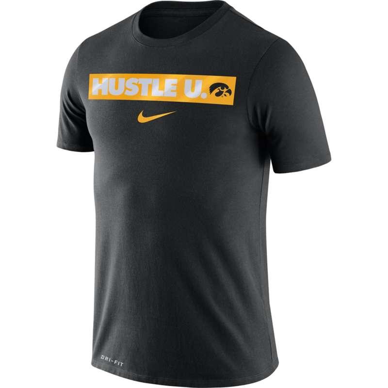 Nike Iowa Hawkeyes Dri-FIT Hustle U. T-Shirt
