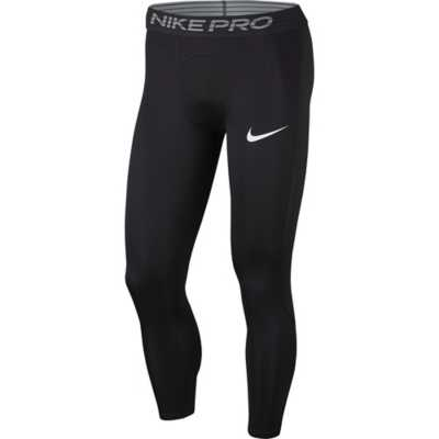 Men/'s Nike Pro Compression Tights Dri Fit Black