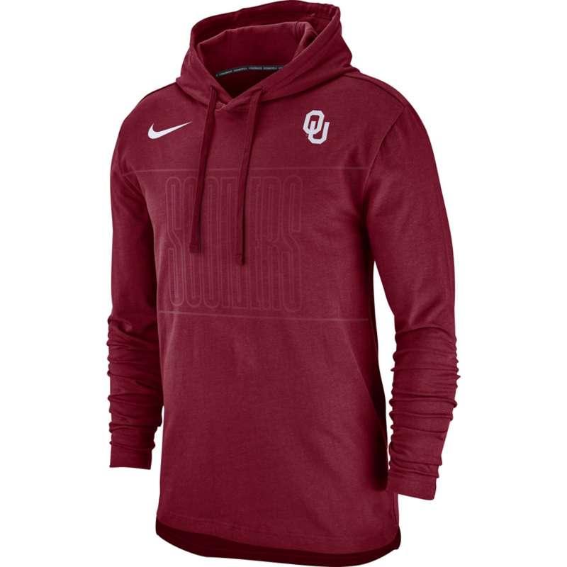 Nike Oklahoma Sooners Jersey Long Sleeve Hoodie