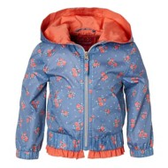 Toddler Girls' Pink Platinum Pongee Windbreaker