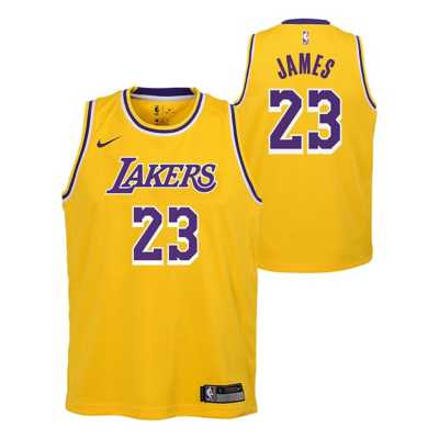 Nike Kids' Los Angeles Lakers Lebron James Swingman Jersey ...