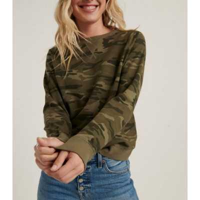 Women's Lucky Brand Classic Camo Sweatshirt