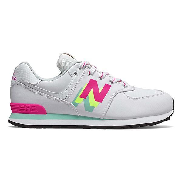 Grade School Girls' New Balance 574 Windbreaker Shoes