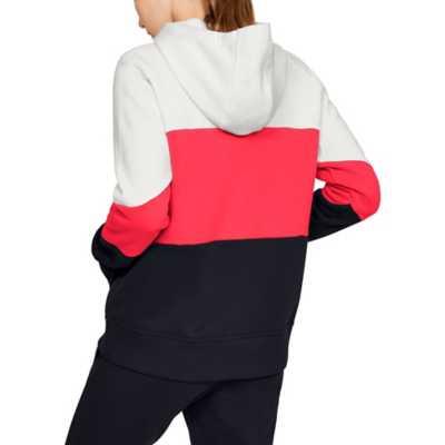 Women's Under Armour Rival Fleece Color Block Hoodie