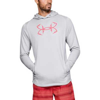 Men's Under Armour Tech Terry Fish Hook Hoodie