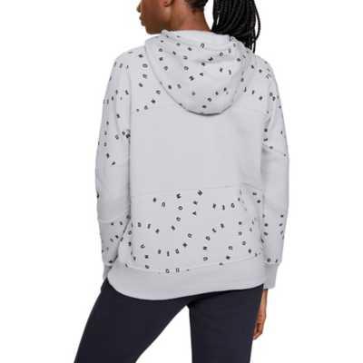 Women's Under Armour Rival Fleece Printed Hoodie