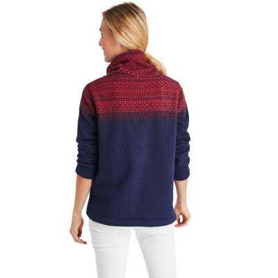 Women's Vineyard Vines Fairisle Flannel Sweatshirt