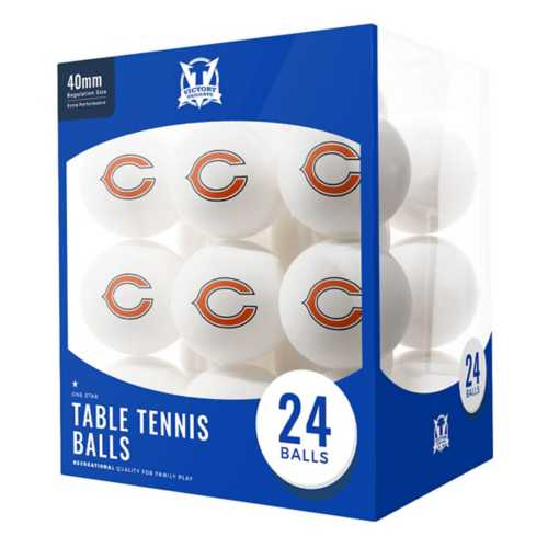 Escalade Sports Chicago Bears 24 Count Ping Pong Balls